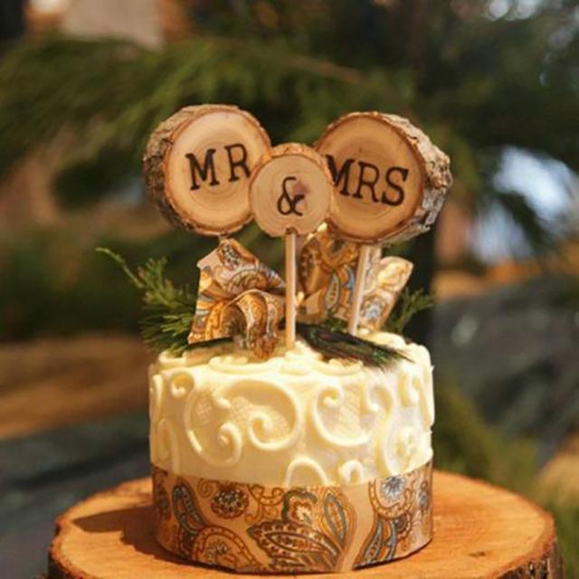 bodas de madeira decoração