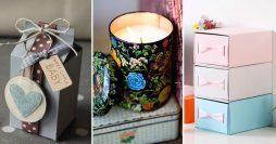 50 Ideias Incríveis Para Reutilizar Embalagens Vazias
