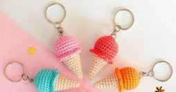 19 Chaveiros de Crochê para Fazer e Vender