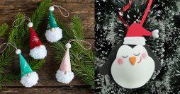 Enfeites de Natal Lindos e Baratos Para Fazer em Casa