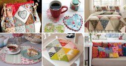 Artesanato em Tecido – 25 Ideias de Patchwork Para se Inspirar