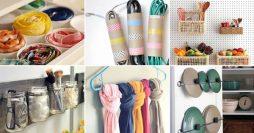 45 Ideias para Organizar a Casa Sem Gastar Quase Nada