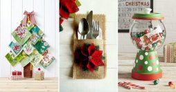 75 Ideias de Decoração de Natal Super Criativas Para Fazer em Casa