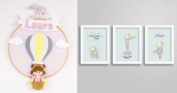 3 Maneiras Incríveis de Fazer Quadros Para Quarto de Bebê