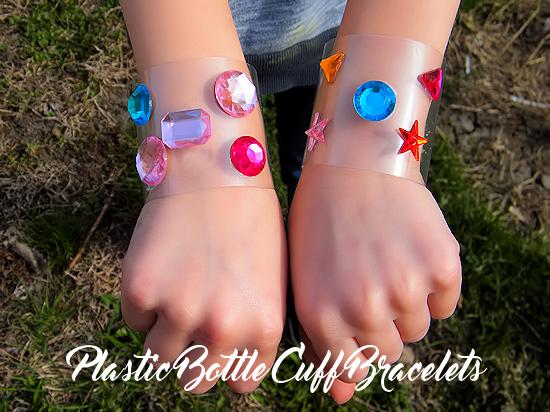 bracelete de garrafa PET para crianças