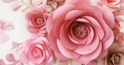 7 Ideias de Flores de Papel para Fazer em Casa