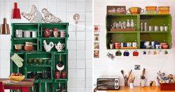 Decoração – Descubra Como Fazer uma Estante de Caixotes Estilosa para a Sua Casa