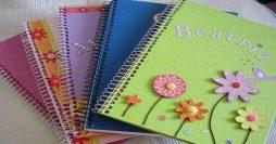 Cadernos Personalizados – 23 Ideias Incríveis Para se Inspirar