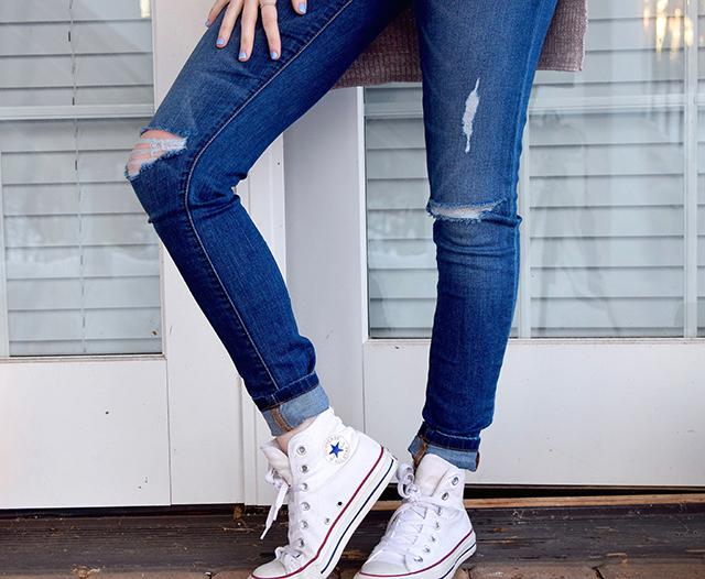 como desfiar calça jeans