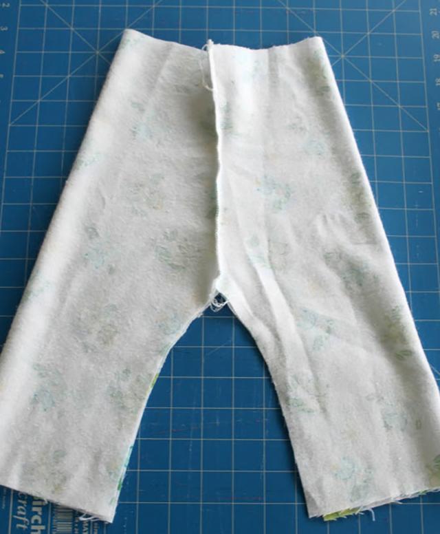 como costurar calça de moletom infantil