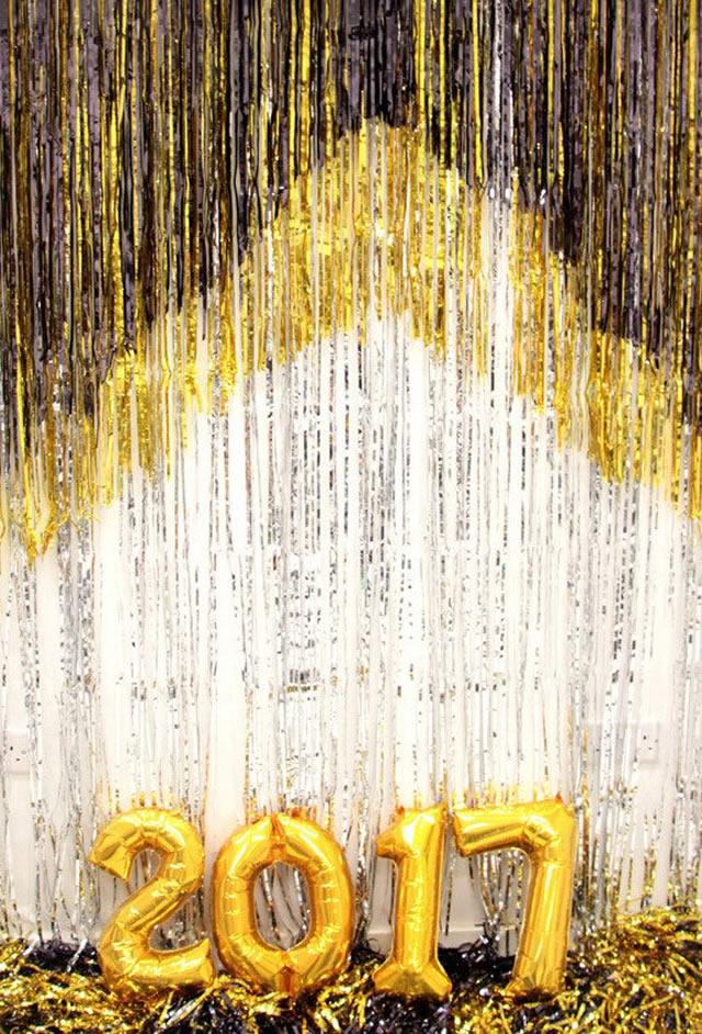 Decoração de Ano Novo