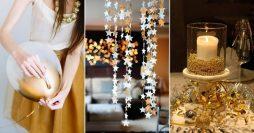 Faça Você Mesmo: 42 Ideias Lindas para Decoração de Ano Novo