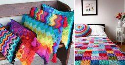 Como Usar Almofadas de Crochê para Deixar sua Casa do Jeito que Você Gosta
