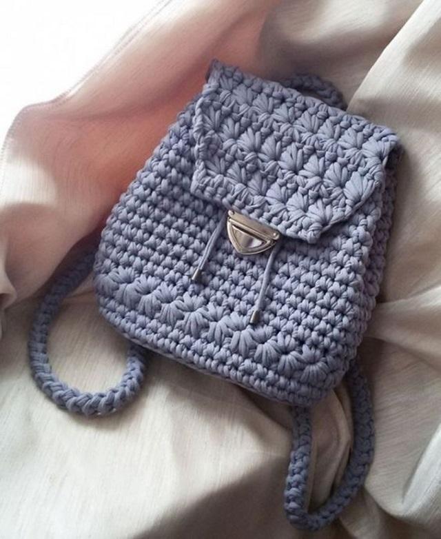 bolsa de fio de malha