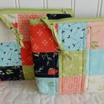 como fazer bolsa de patchwork