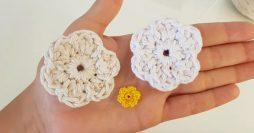 Como Fazer Flor de Barbante – Crochê para Iniciantes