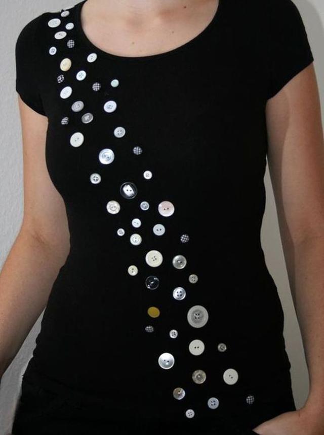 ideias de artesanato com botões