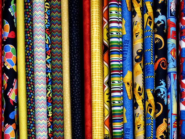 tecido para artesanato