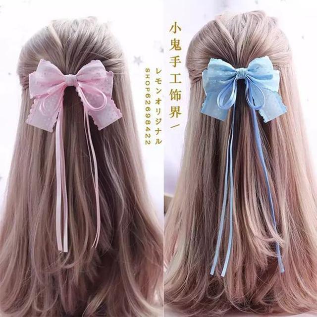 como fazer laço de fita para cabelo