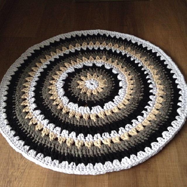 tapete de fio de malha como fazer