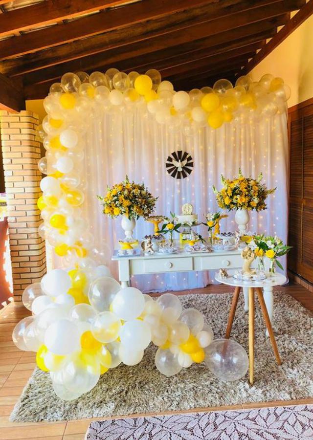 decoração de batizado