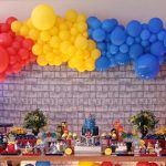 arco de balão ideias