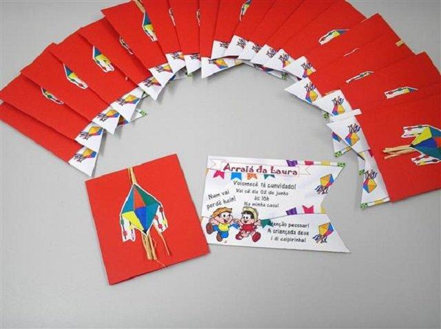 Convite De Festa Junina 35 Ideias Incríveis Para Copiar Revista Artesanato