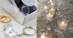 Bodas de Cristal: Decoração e Lembrancinhas +44 Fotos