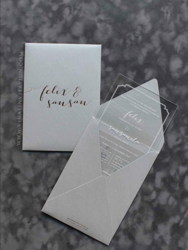 bodas de cristal convite