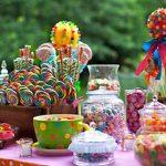 como montar mesa de doces