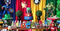 Festa Vingadores: Ideias de Decoração e Lembrancinhas +43 Fotos