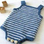 roupas de bebê de crochê