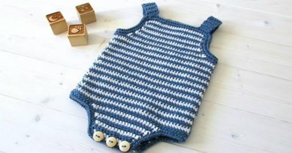 Como Fazer Roupas De Bebê De Crochê Passo A Passos 46