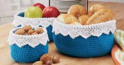 Crochê Para Cozinha: 82 Ideias com Passo a Passo e Gráficos