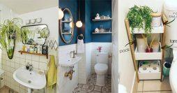 8 Dicas Preciosas de Organização e Decoração para Banheiro Pequeno