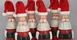 58 Lindos Modelos de Garrafas Decoradas para o Natal