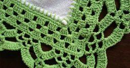 31 Gráficos de Bicos de Crochê para Imprimir Gratuitamente