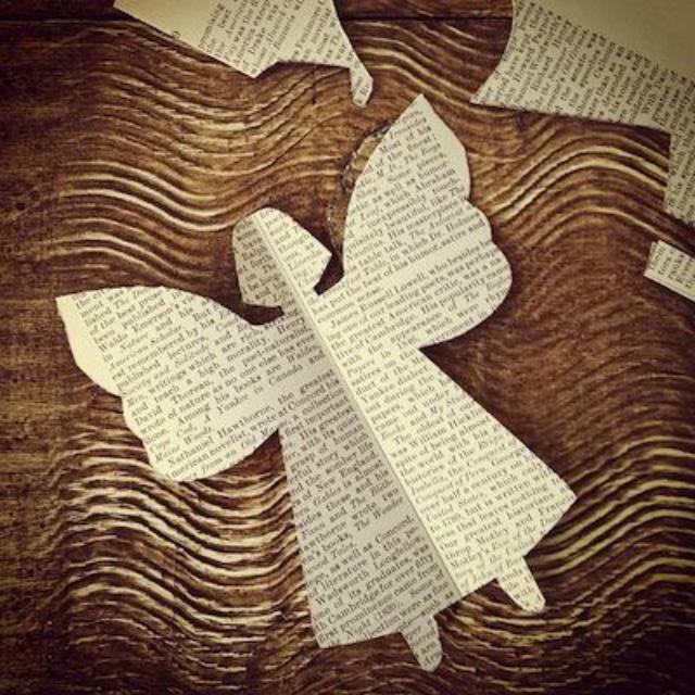 anjinho de papel
