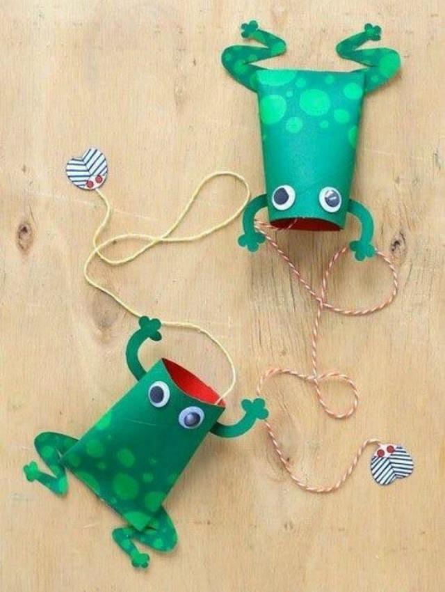 brinquedos com rolo de papel higiênico