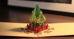 40 Modelos de Cartões de Natal Criativos para Copiar