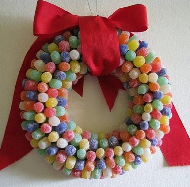 guirlanda de doces