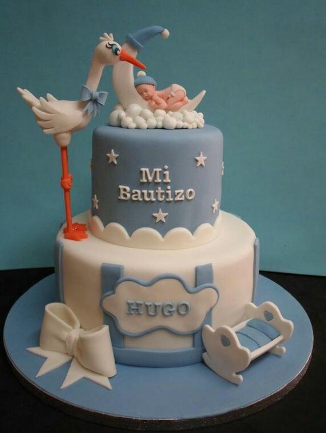bolo para batizado
