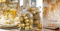 Decoração de Ano Novo: 115 Ideias Simples e Lindas para a Virada