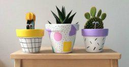 Vasos Decorativos para Plantas: 35 Modelos Lindos para Fazer em Casa