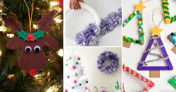 Enfeites de Natal Fáceis de Fazer: 28 Ideias Incríveis com Passo a Passo