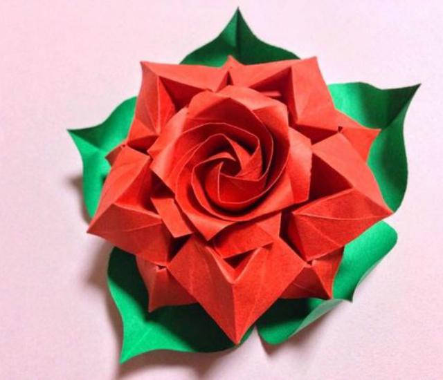 flor de origami