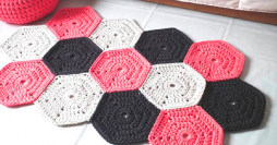 10 Modelos de Passadeira de Crochê com Gráfico para Baixar