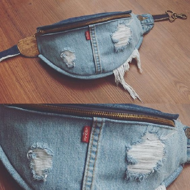 Pochete jeans