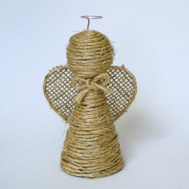Anjinho de corda de sisal