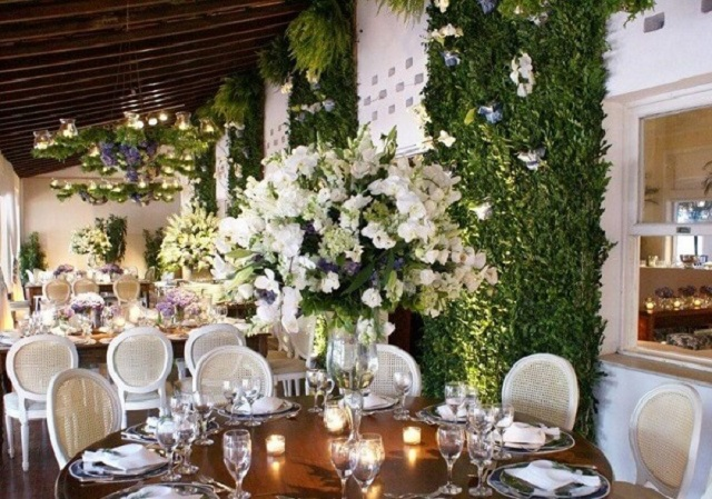 Arranjos para bodas de prata